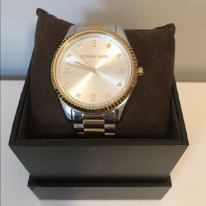 Michael Kors Blake Two Tone Watch